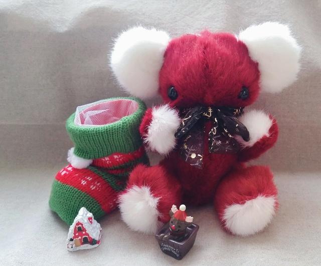 白×赤クリスマス
